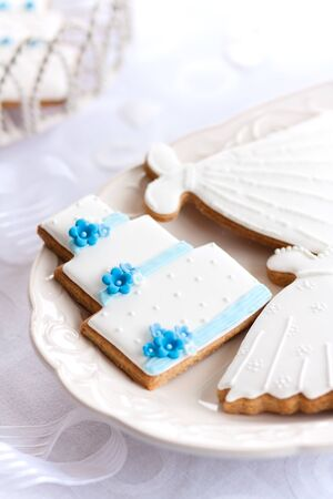 Wedding cookies Stock Photo - 9016514