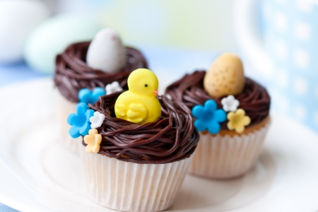 Easter cupcakes Stock Photo - 9089816