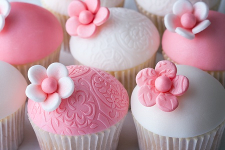 Wedding cupcakes Stock Photo - 9215561