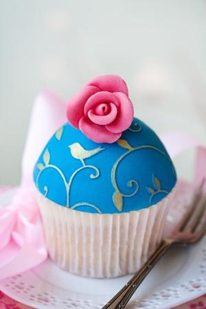 Cupcake gourmet Foto de archivo - 9364368