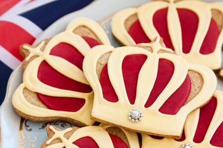 Royal wedding cookies Stock Photo - 9418171