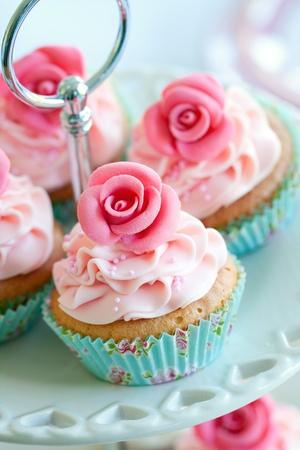 Vintage cupcakes Stock Photo - 9460623
