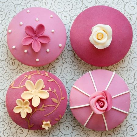 Wedding cupcakes Stock Photo - 9460629
