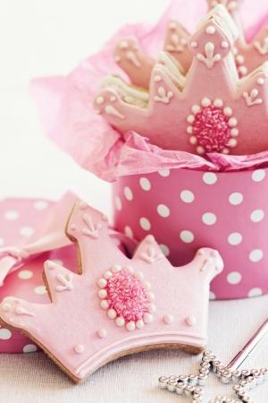 baking cookies: Principessa cookies Archivio Fotografico