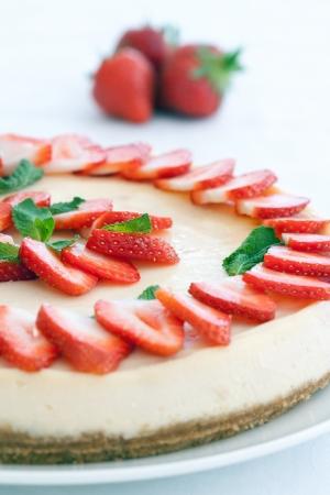 cheesecake: Strawberry cheesecake