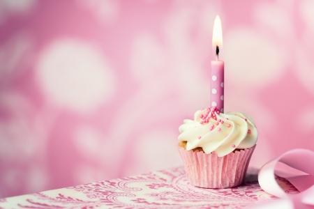 pastel de cumplea�os: Cupcake cumplea�os