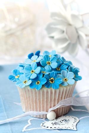 Bruiloft cupcake Stockfoto - 9742989