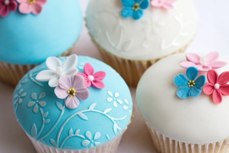 fairy cake: Wedding cupcakes