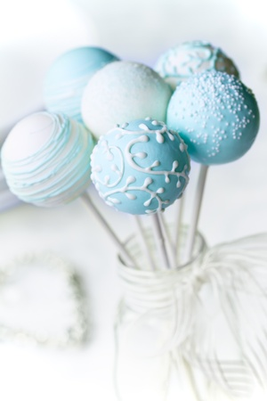 Wedding cake pops  photo