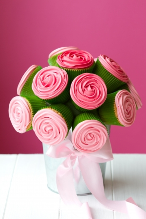 Cupcake bouquet photo