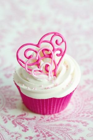 cupcake: Valentine cupcake