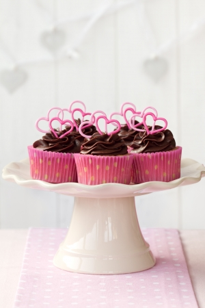 sweet treat: Valentine cupcakes