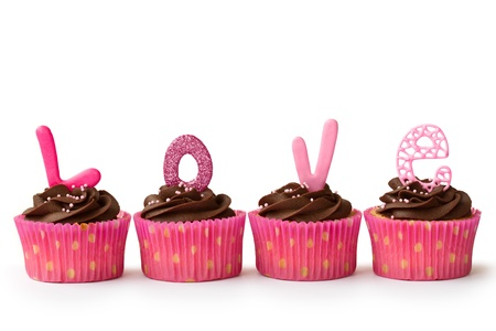 cupcake: Petits g�teaux Valentine