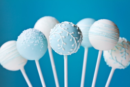 Wedding cake pops Stock Photo - 12350210