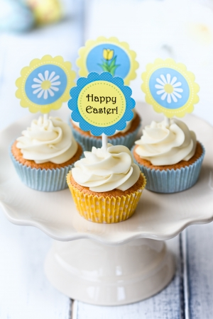 cake pick: Easter cupcakes