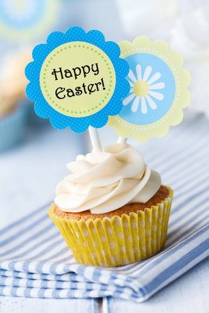 Easter cupcake Stock Photo - 12350211