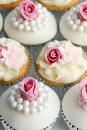 fairy cakes: Wedding cupcakes