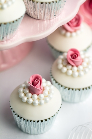 Wedding cupcakes Stock Photo - 12550058