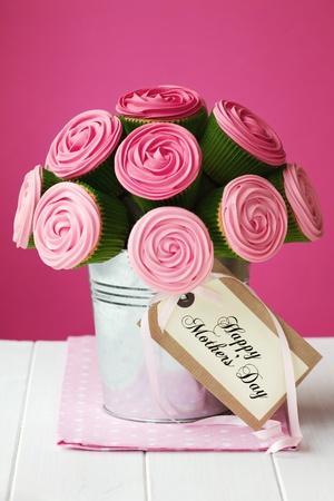 dzień matki: Mother s bukiet Cupcake dni