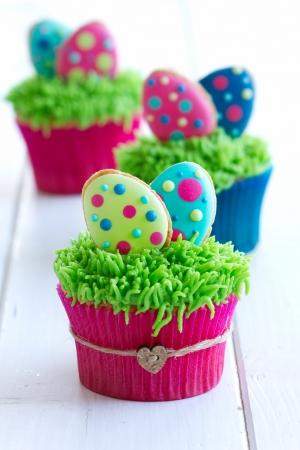 cupcake: Petits g�teaux de P�ques