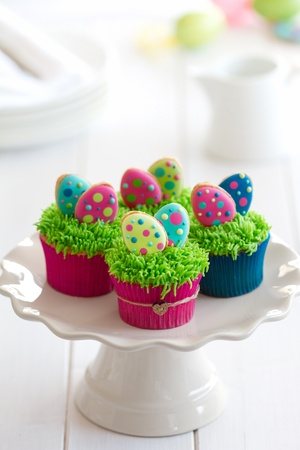 Easter cupcakes Stock Photo - 12884040