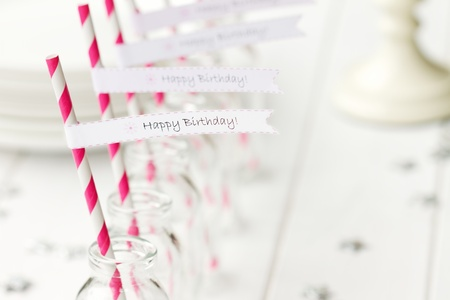 Birthday party refreshments Stock Photo - 13233209