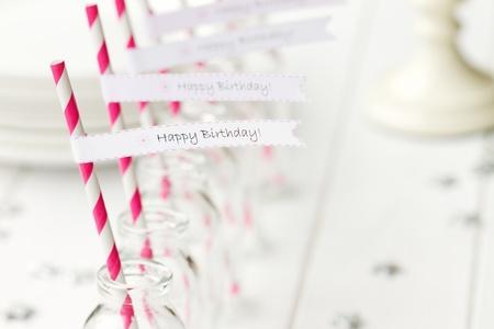 Refrescos fiesta de cumpleaños Foto de archivo - 13233209