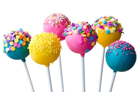 party food: Cake pops
