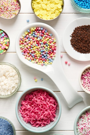 Candy sprinkles photo