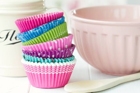 Cupcake cases Stock Photo - 13334999