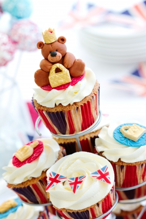 british foods: Royal Jubilee cupcakes