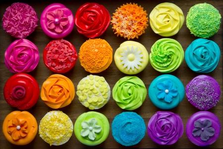 Cupcakes Foto de archivo - 14002786