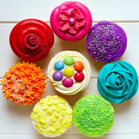 Cupcakes Foto de archivo - 14002782