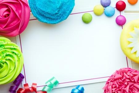 birthday invitation: Party background