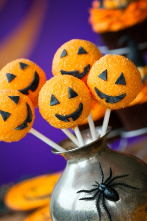 Halloween cake pops Stock Photo - 14849445