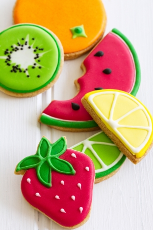 brightly colored: Summer cookies