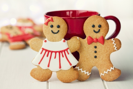 Gingerbread couple photo