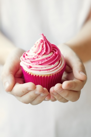 pink cupcakes: Cupcake