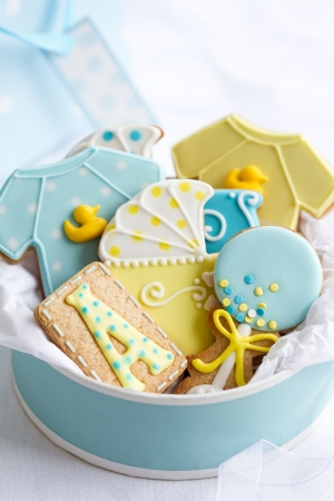 baby boy shower: Baby shower cookies
