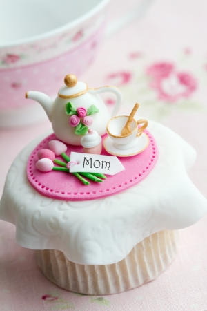 pink cupcakes: Mothers day cupcake
