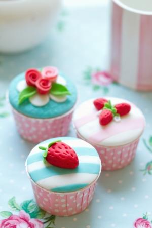 red tea: Cupcakes