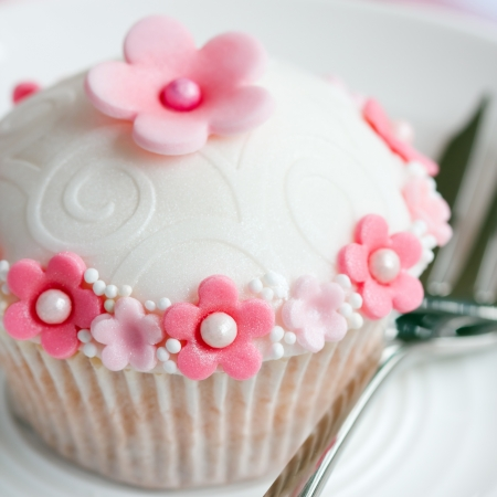 fondant: Cupcake