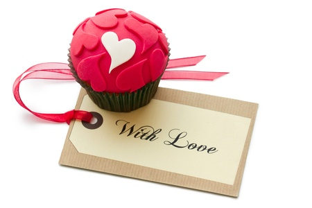 Valentine cupcake Stock Photo - 17280763