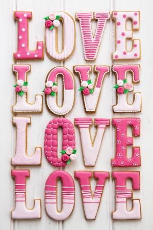 shabby chic: Love cookies