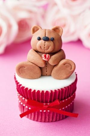 fondant: Cupcake di San Valentino
