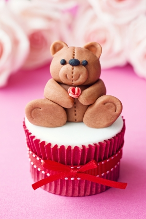 Valentine cupcake Stock Photo - 17280767