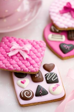 Chocolate box cookies Stock Photo - 17481664