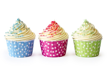 cupcakes isolated: Cupcakes