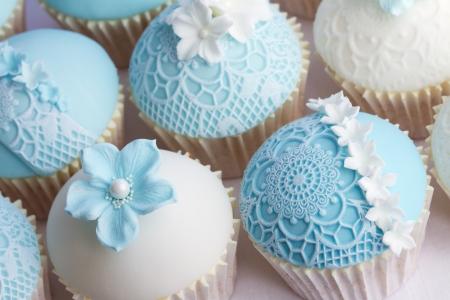 結婚式のカップケーキ