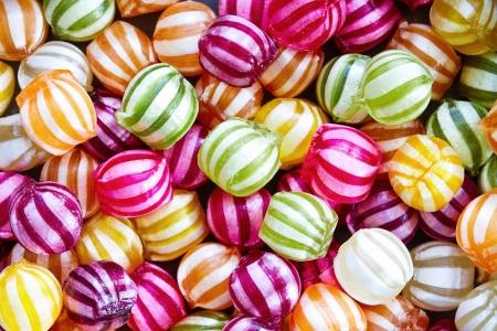 Fondo del caramelo